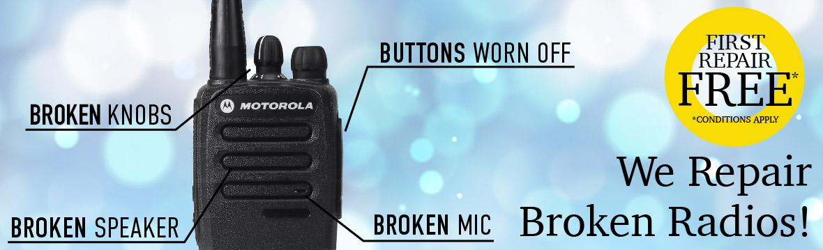 Two Way Radios | Motorola Walkie Talkies | Hytera | Kenwood - EdgeTech